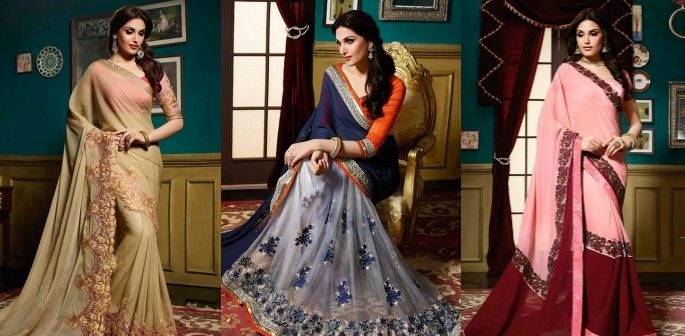 Contemporary Sarees Indian Fashion Trends 2018