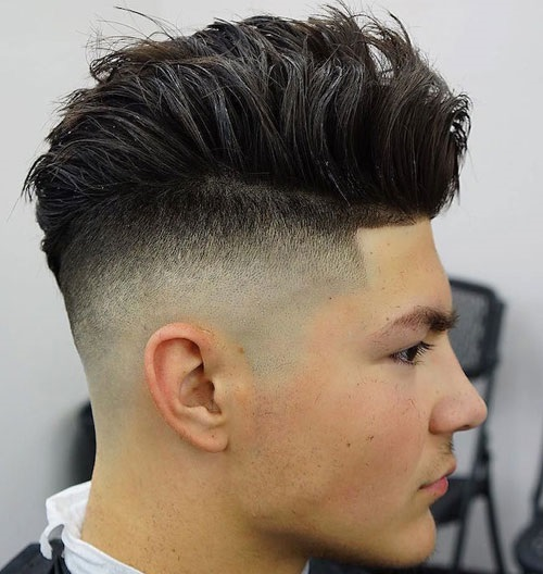 High Skin Fade Hairstyle for Men in 2019 to 2020