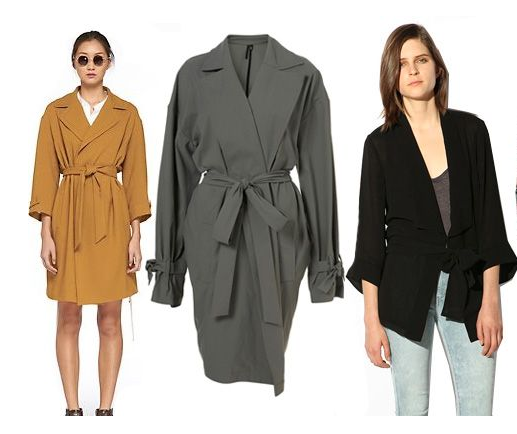 Kimono Style Trench Coats Fashion Trends for Women in 2019