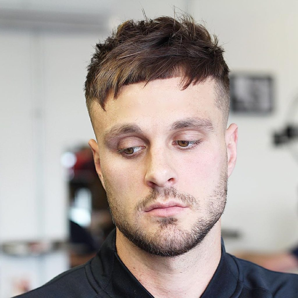 Messy Short Crop Hairstyle for Men in 2019 to 2020
