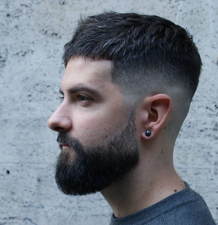 Shorter Faded Hairstyle for Men in 2019 to 2020