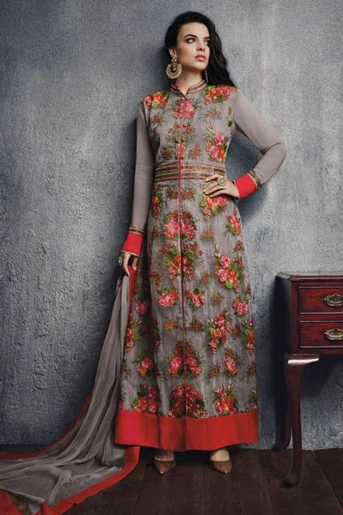 FLORAL PATTERNS - Latest Trends in Ethnic Wear 2019