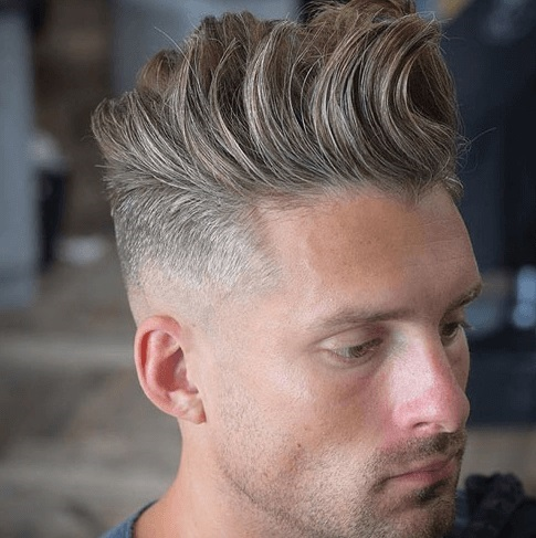 Low Skin Fade with Long Textured Quiff - Mens Hairstyles 2020