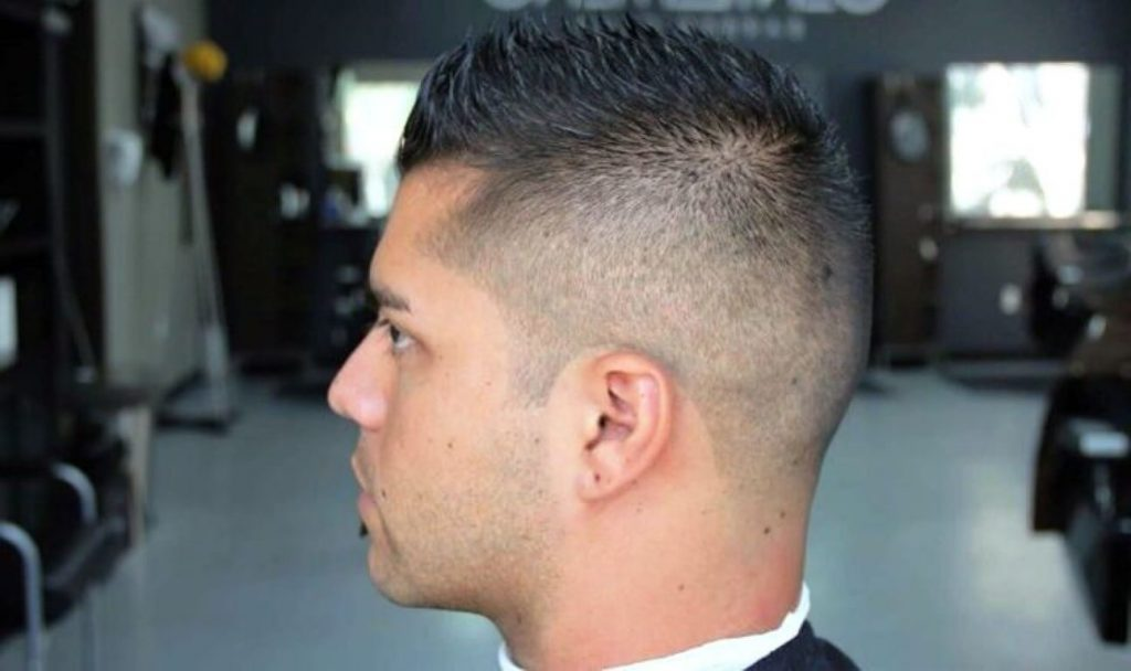 High Fade with Short Haircut - Mens Hairstyles 2020