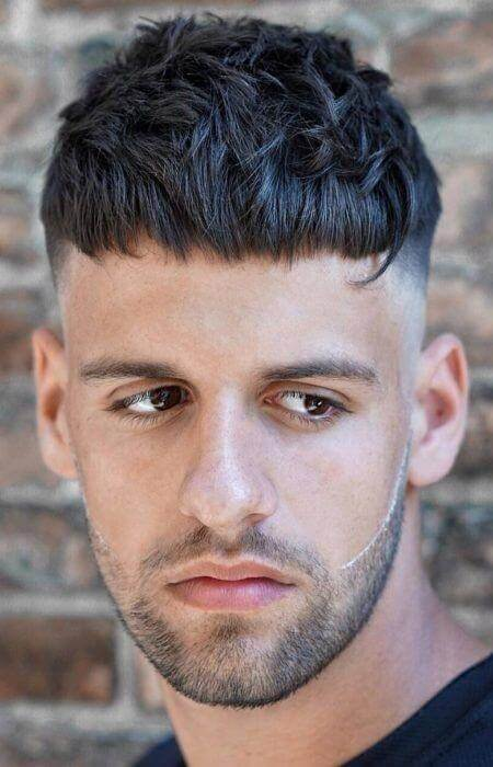 Textured French Crop Fade - Mens Hairstyles 2020