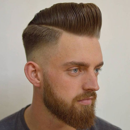 Modern Pompadour Hairstyle for Men in 2019 to 2020