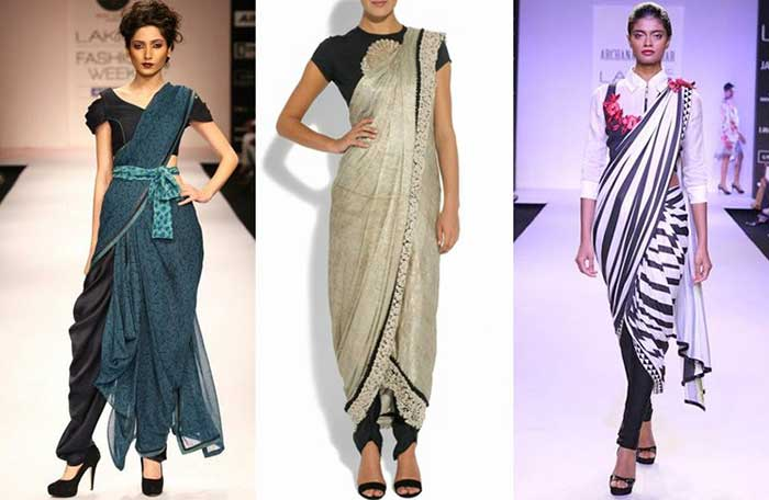 Saree: with a twist Fashion Trends for Women in 2019