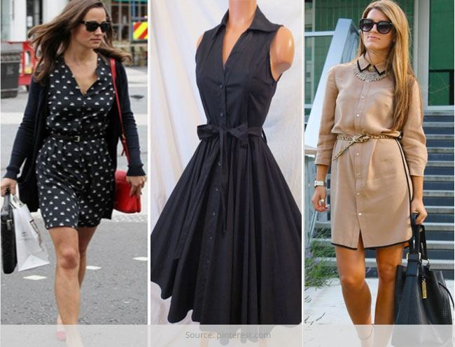 Shirt Dresses Fashion Trends for Women in 2019