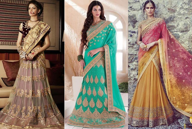 The Lehenga Saree 2018