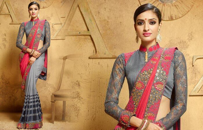 Sarees and Jackets 2018