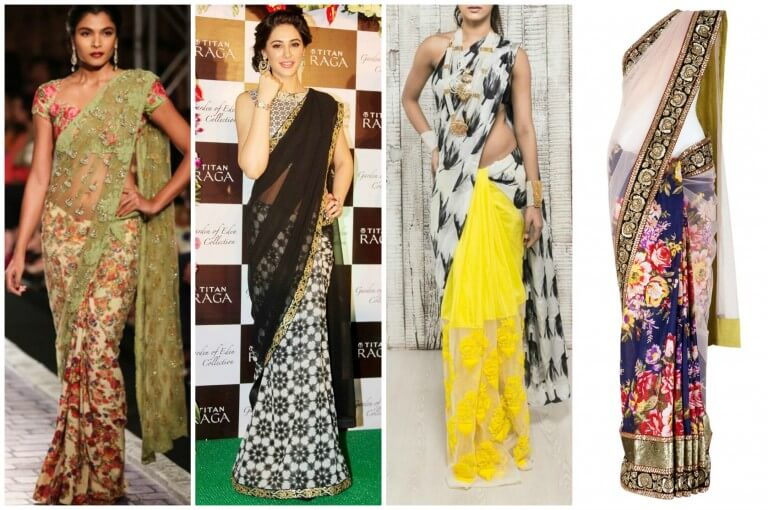 The Half and Half Saree 2018