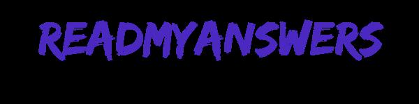 ReadMyAnswers