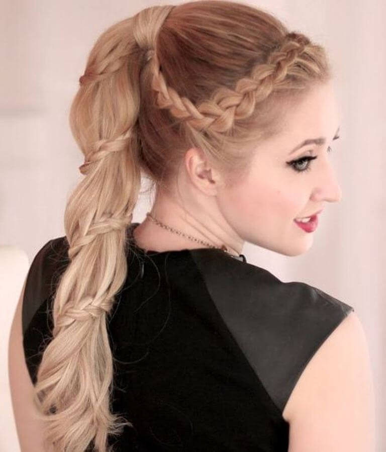 2. Ponytails Hairstyles for Womens 2019