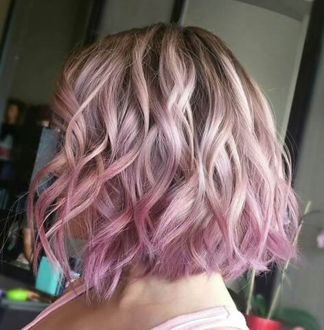 Short Ombre Hairstyle 2020