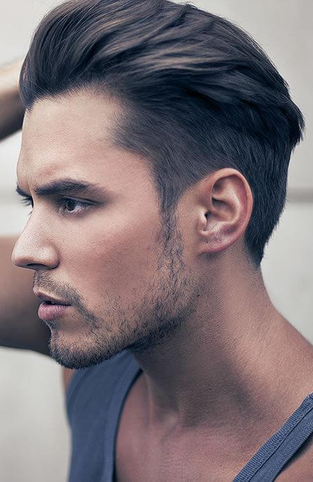 Modern Undercut Pompadour - Mens Hairstyles 2020
