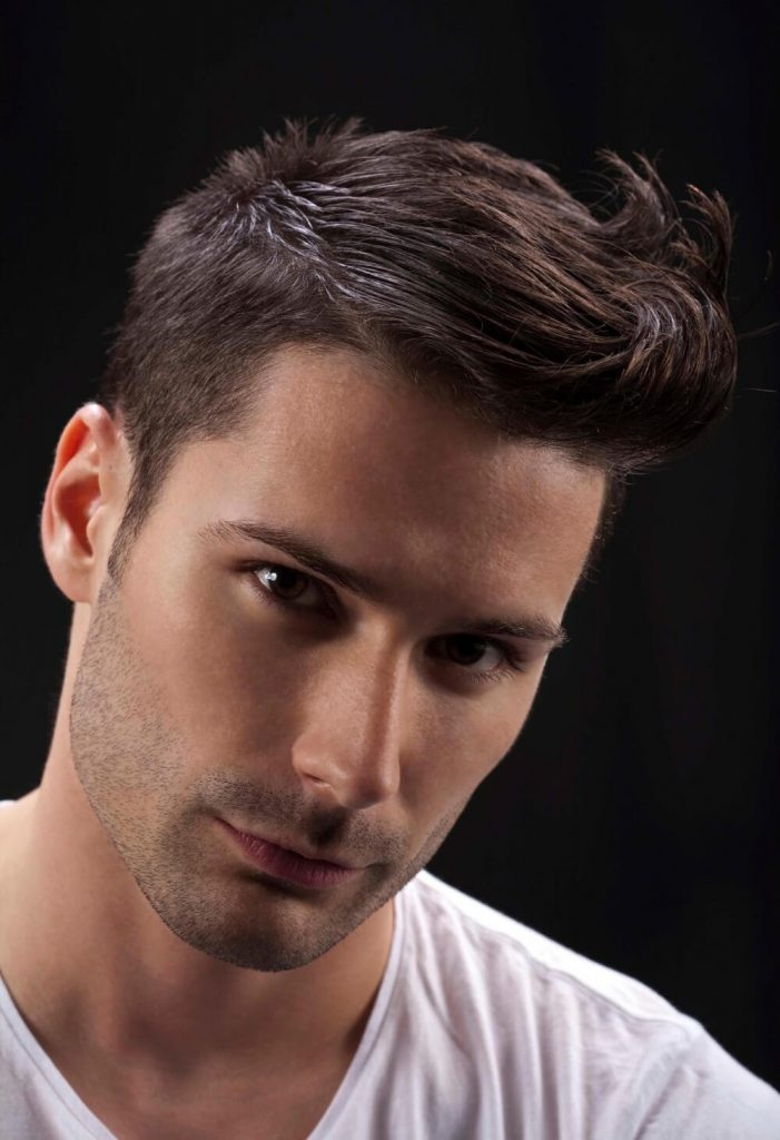 Spiky Quiff Haircut - Mens Hairstyles 2020