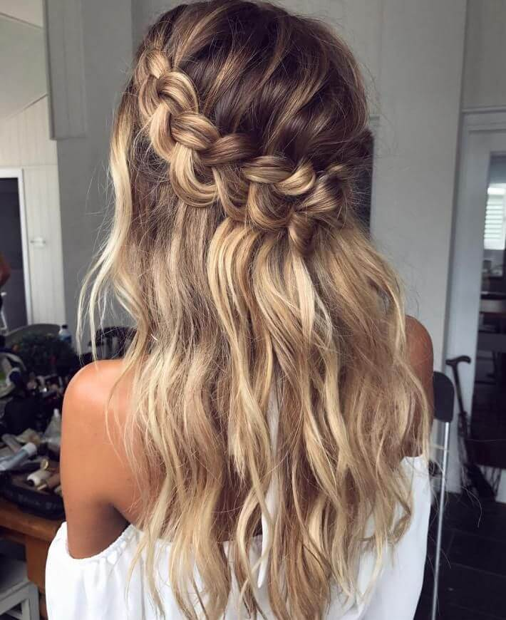 Braided Crowns - Trendy Womens Haircuts 2020