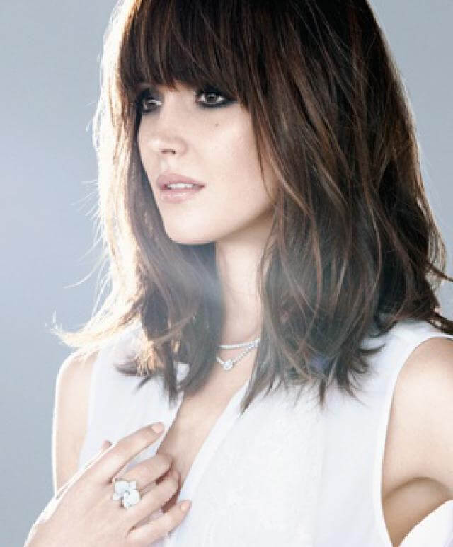 3. Low Maintenance Bangs - Womens Hairstyles 2020