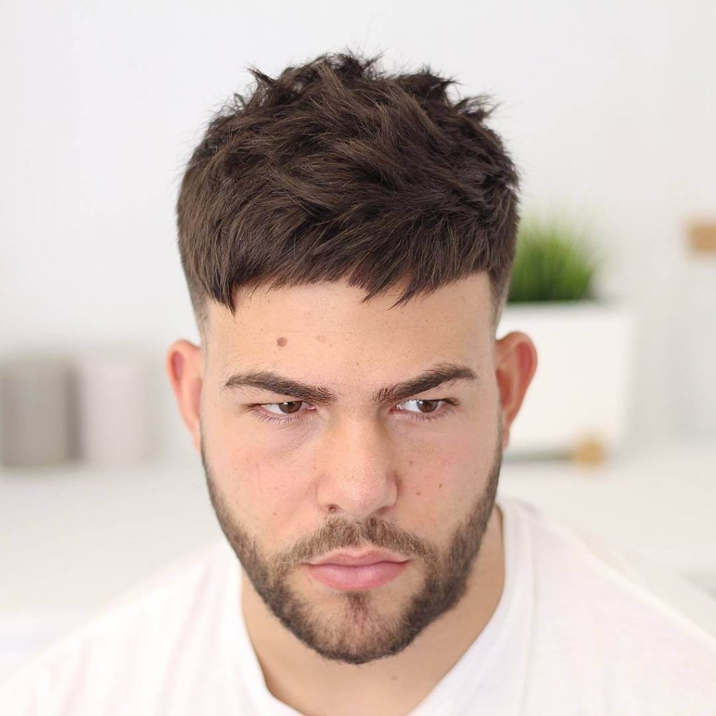 Short Textured Men's Haircut - Mens Hairstyles 2020