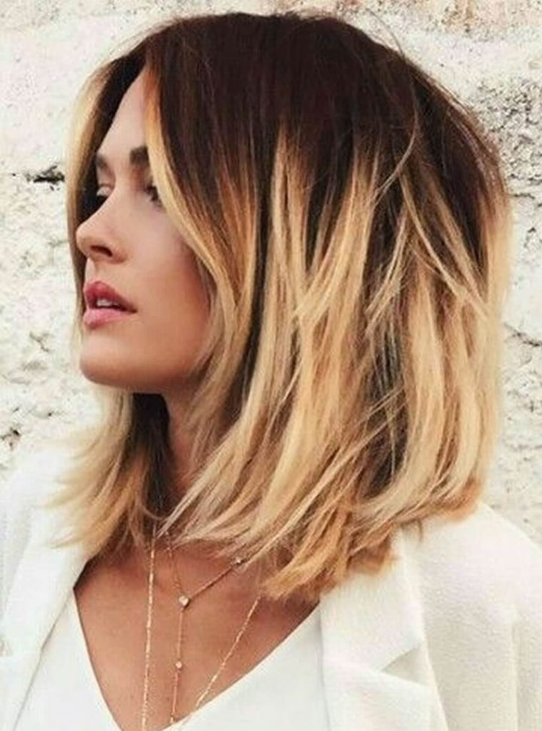 17. Ombre Short Hair - Short Hairstyles for Women 2020
