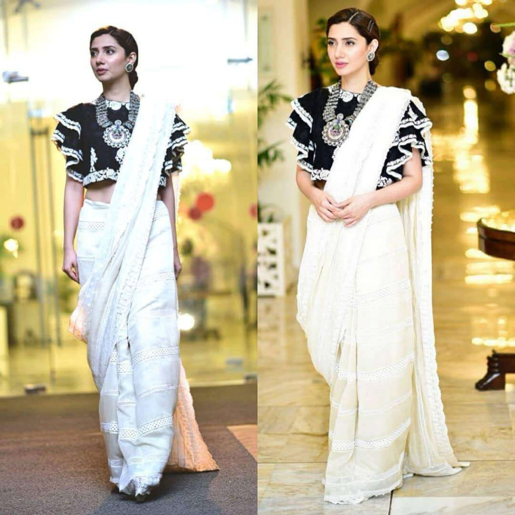 Ruffled blouse - Saree Blouse Designs 2019