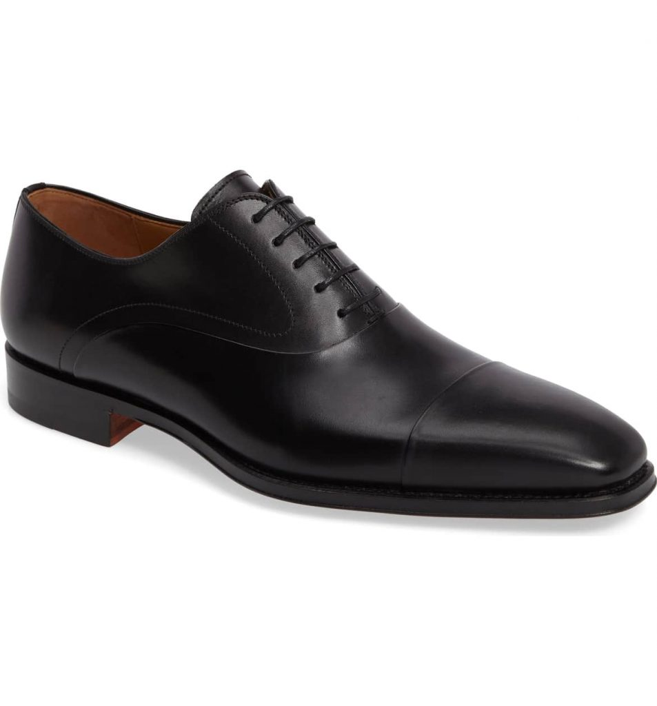 3. Black Cap Toe Oxfords Mens Shoe Trends 2019