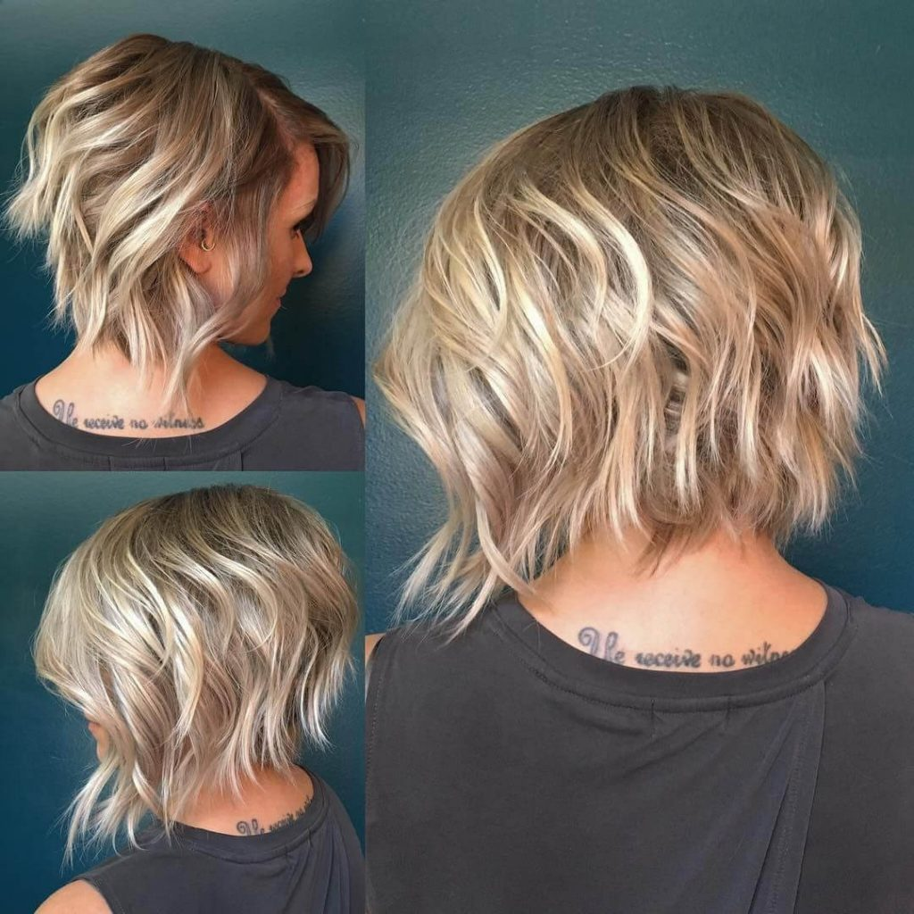 2019 Inverted Bob Hairstyle
