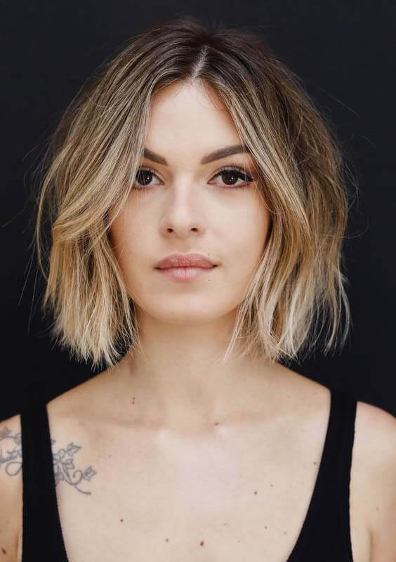 2019 Choppy Bob Hairstyles