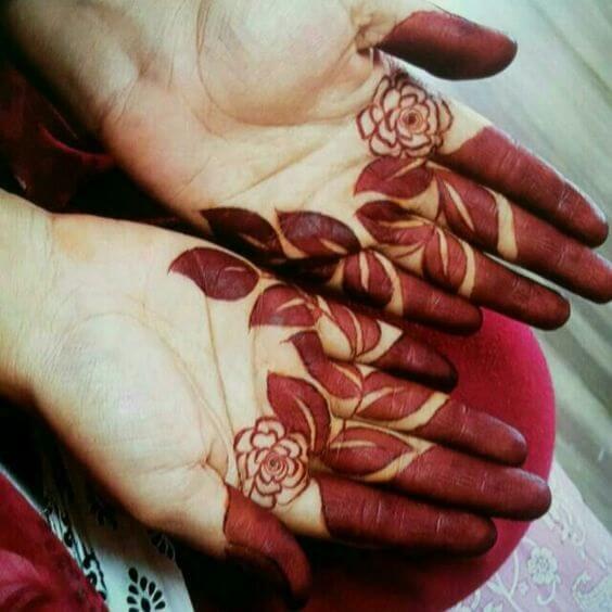 7. Arabic Tattoo Mehndi Design – New Arabic Mehndi Designs 2019